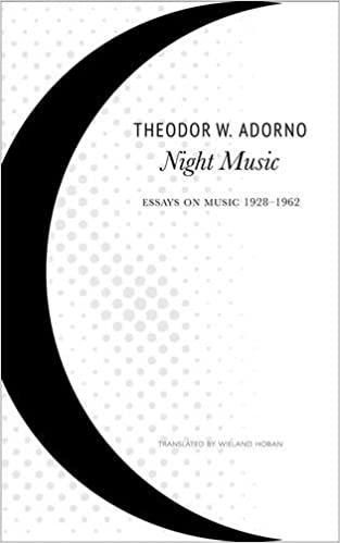 Night Music Essays On Music  The German List Theodor W  Night Music Essays On Music  The German List Theodor W  Adorno Wieland Hoban  Amazoncom Books