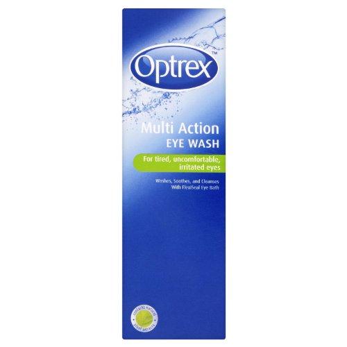 Optrex Multiaction Eye Wash with Eye Bath x 300ml