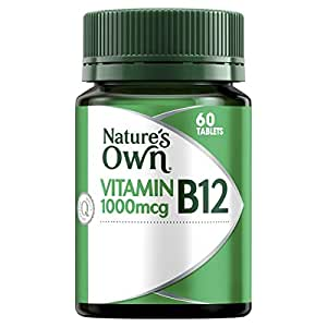 Nature's Own High Strength Vitamin B12 1000mcg - Supports Nervous System - Maintains Heart Health and Function