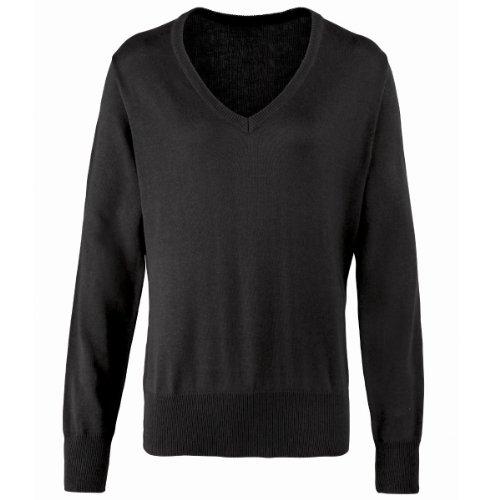 Premier Workwear - Camiseta - Mujer Negro negro 36