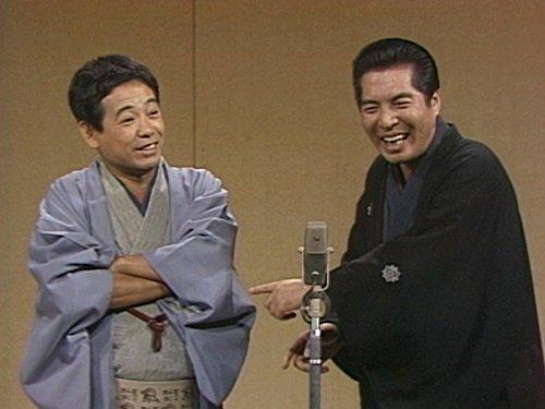 落語協会から脱退した立川談志(左)と5代目三遊亭圓楽 : 実は ...