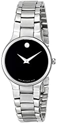 "Movado Women's 0606383 ""Serio"" Stainless Steel Watch"