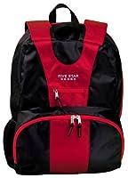 Five Star School Backpack, Ergo Sidekick, Holds 16 Inch Laptop, Red (72392)