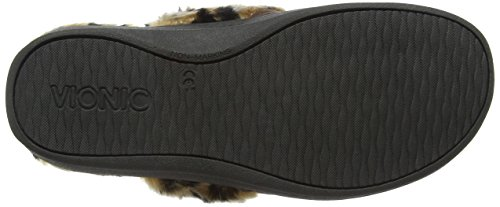 Dark Brown Orthotic Pleasant Vionic Women's Slippers Support Fv4Bw