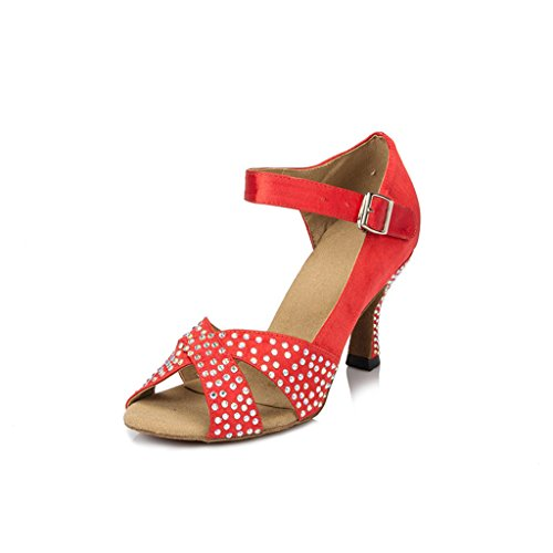 Bal Monie Salle Femme Red De O7OHwqvE