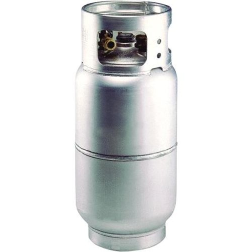 - Worthington 297297 33-Pound Aluminum Forklift Propane Cylinder With Gauge And Fill Valve