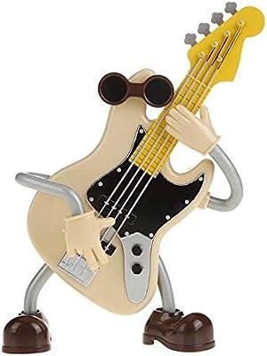 BGFBHTY Mini Caja de música de plástico Guitarra Caja de música Vintage Regalo de los niños Artesanías en Miniatura Decoración del hogar Accesorios Ornamento: Amazon.es: Hogar