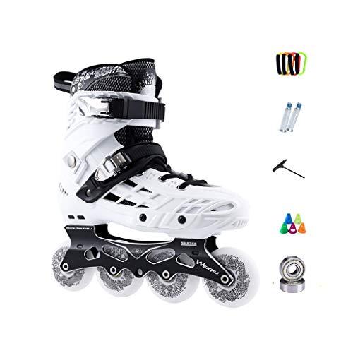 酸化物彫刻家不平を言うailj インラインスケート、スケート、大人の男の子、女の子、ローラースケート、プロのコンビネーション、多機能スケート(2色) (色 : 黒, サイズ さいず : EU 36/US 4.5/UK 3.5/JP 23cm)
