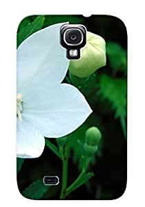 Chapiterq UDBfZYy2477wiyla Case Cover Skin For Galaxy S4 (flowers Nature Plant Beautiful Green Flower )