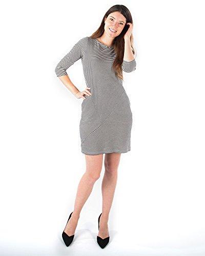 Jersey Boatneck Dress - 8