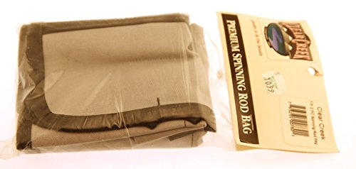 CLEAR CREEK Rod Bag Case - 7.5' - For 2 Piece Fly Fishing Rods New in Package