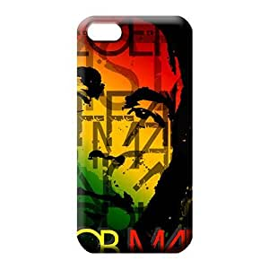 iphone 5c mobile phone covers Back Shock Absorbing Snap On Hard Cases Covers bob marley