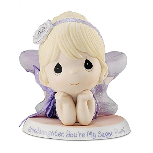 The Hamilton Collection Precious Moments Granddaughter, You're My Sugar Plum Figurine: Granddaughter Ballerina Figurine ()