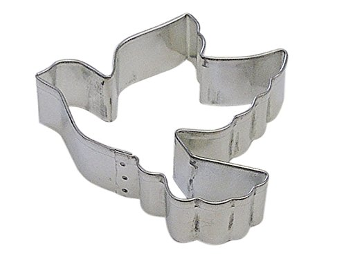 R&M Dove 3.5'' Cookie Cutter in Durable, Economical, Tinplated Steel