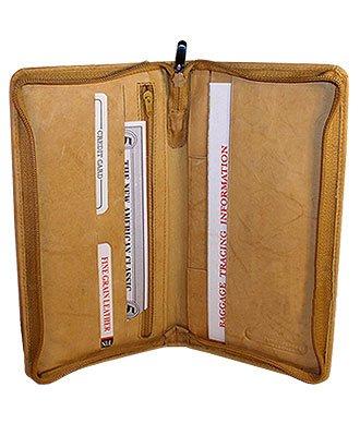 Amazon Com Travel Passport Boarding Pass Ticket Tan Wallet Shoes
