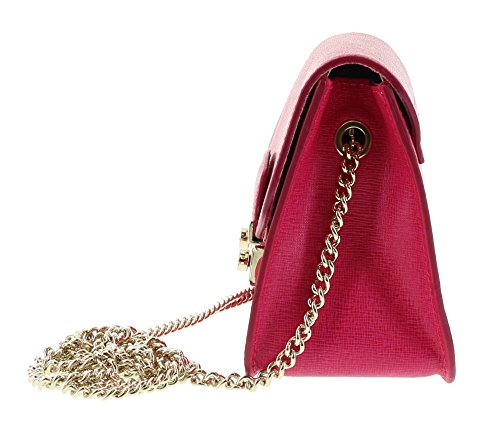 Furla Bag Mini JULIA Crossbody Gloss Shoulder Leather Saffiano rxqrOwRA
