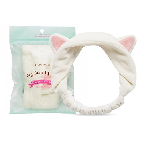 Etude House  My Beauty Tool Lovely Etti Hair Band  Free  White