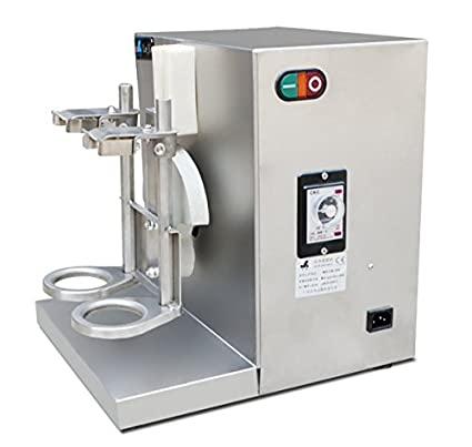 Amazon.com: Auto Bubble Tea Shaker Shaking Machine Double-frame Tea ...