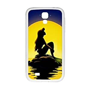 Cool painting Beautiful sea yellow moon Mermaid Cell Phone Case for Samsung Galaxy S4