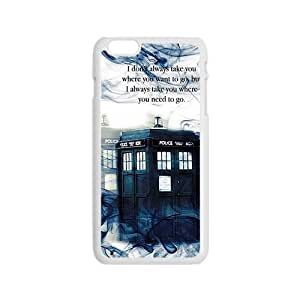 linJUN FENGTardis Doctor Who Smoke Picture Print In Hard Case For Iphone 6