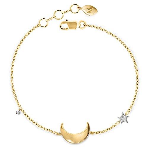 Missoma - Bracelet - Argent 925 - Diamant 0.02 carats - 20.0 cm - TR-G-B3-MO