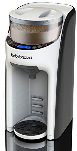 New and Improved Baby Brezza Formula Pro Advanced Formula Dispenser Machine - Automatically Mix a Warm Formula Bottle Instantly - Easily Make Bottle with Automatic Powder Blending by Baby Brezza (Image #2)