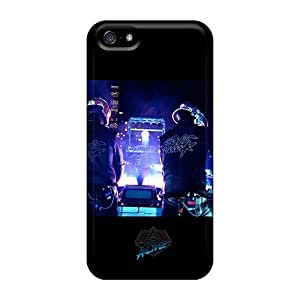 MEIMEIDurable Defender Case For Iphone 5/5s Tpu Cover(daft Punk On Stage)MEIMEI