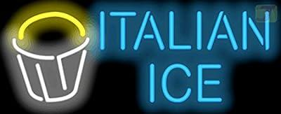 Italian Ice Neon Sign