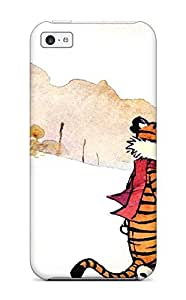 Hot SSXhlDd5498SOwRG Calvin And Hobbes Cartoon Anime Cartoon Tpu Case Cover Compatible With Iphone 5c wangjiang maoyi by lolosakes