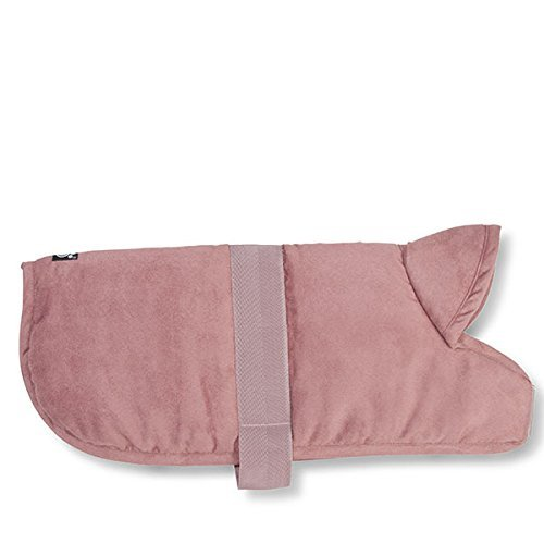 Pet Rageous 9403PLG Dakota Faux Suede Jacket, X-Large, pink