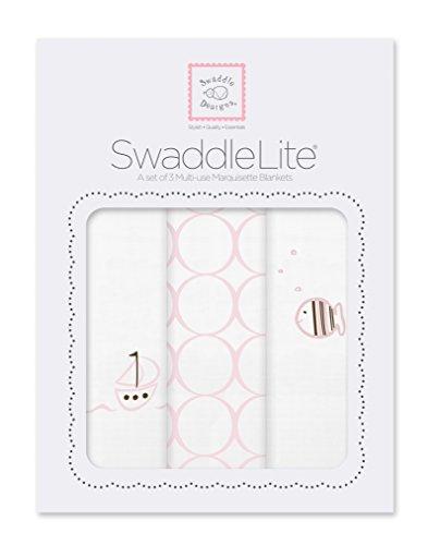 SwaddleDesigns SwaddleLite Marquisette Swaddle Blankets product image