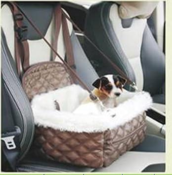 Auto Pet Sitzplatz cama perro pequeño gato mascota Auto asiento Espacio cama # 0533, Weiß, a 33*27*H20cm: Amazon.es: Productos para mascotas