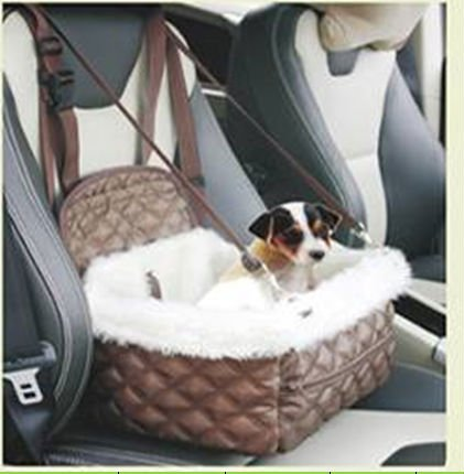 Speedy Pet Warm und Weich Auto Pet Sitzplatz Bett Hund Katzen Klein Haustier Auto Sitzplatz Bett #0533