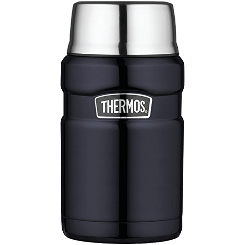 Thermos Stainless King 24 Ounce Food Jar, Midnight Blue (Food Stainless Jar)