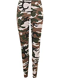 GirlzWalk ® New Girls Kids Camouflage Army Print Full Length Leggings Funky Pants