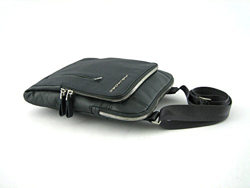 Borsello Piquadro in pelle e tessuto con porta iPad/iPad Air Galileo CA1358W52-A