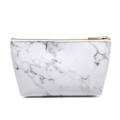 Marble Cosmetic Bag, Kanical Makeup Pouch Travel Bags Access