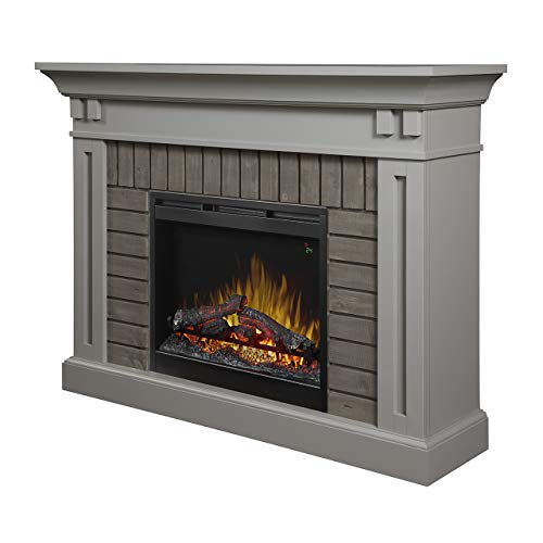 Cheap DIMPLEX Madison Electric Fireplace Mantel with Logs Black Friday & Cyber Monday 2019