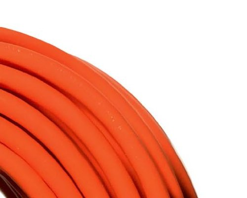 Woods 0827 14/3 Outdoor Multi-Outlet Extension Cord, 100-Foot, Orange by Woods (Image #1)