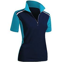 Women's Active Wear Short Sleeve Polo Shirt