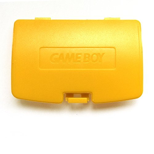 Color Cover Boy Battery Game (Gameboy Color GBC Game Boy Colour Replacement Battery Cover - Yellow)