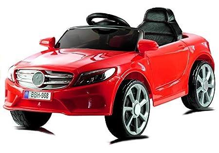Kinderfahrzeuge Kinderfahrzeug BBH-968 Rot Ledersitz EVA-Reifen 2.4G LED Frontscheinwerfer