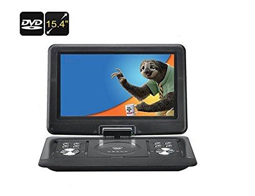 BW 15.4 Inch Portable DVD Player - 270 Degree 1280x800 Swivel Screen,...