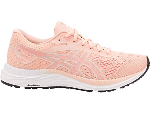 ASICS Women's Gel-Excite 6 Running Shoes, 9M, BAKEDPINK/Silver