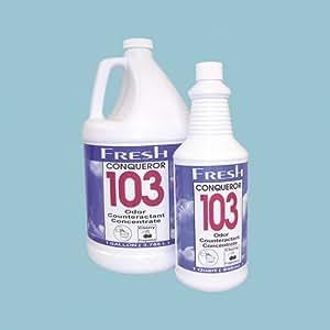 Fresh Products FRS 1-WB-TU Conqueror 103 Conc Odor Counteract Tutti Frutti 4/1 Gl