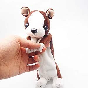 Estuche para lápices de peluche con diseño de perro para niños 25 cm Bulldog: Amazon.es: Hogar