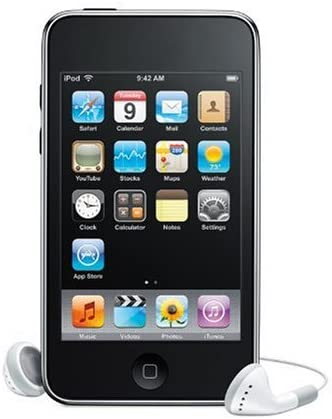 MB528LL // A1288 2nd Generation Black Apple 8GB iPod Touch
