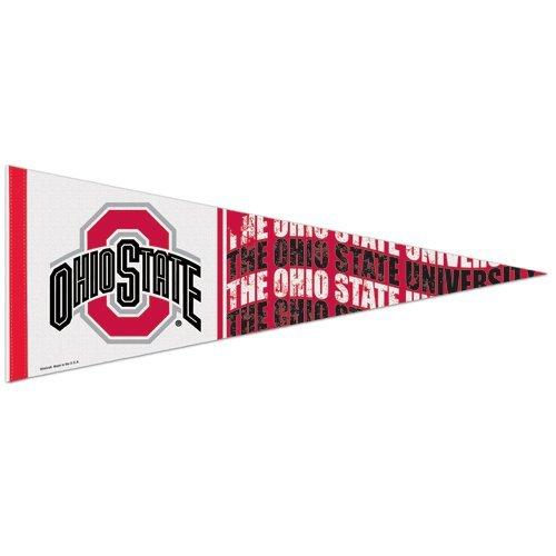 WinCraft NCAA 90996014 Ohio State University Premium Pennant, 12