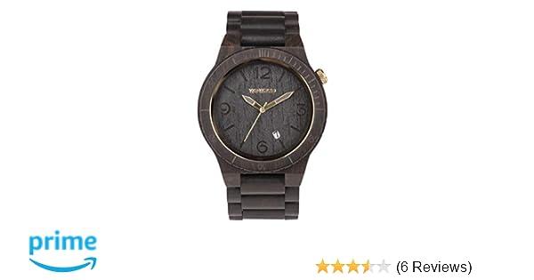 WeWood Alpha Black Gold reloj de pulsera