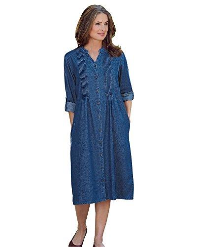 Sleeve Pintuck Dress - 6